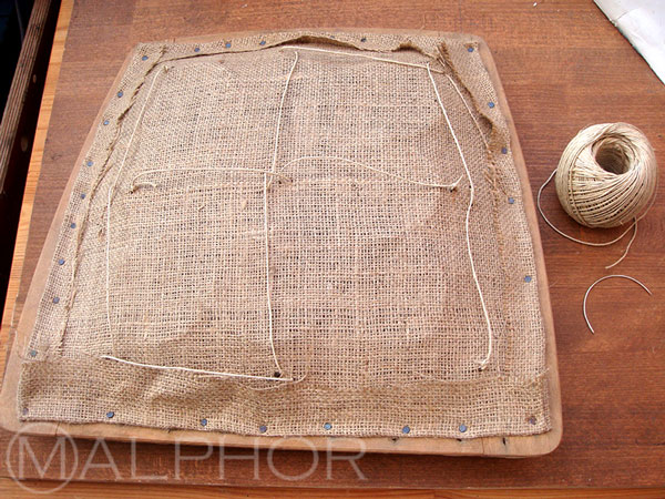 Hessian and Bridle Ties